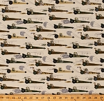 Cotton Race Cars Rats Mice Driving Racecars Dragsters Hot Rods Rat Race Redux Kids Beige Cotton Fabric Print by the Yard (CX7338-CREM-D)