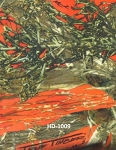 True Timber MC2 Blaze Hunter's Orange Camouflage Super Soft Sueded Velour Fabric by the Yard (9HD-1009)