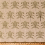 Home Decor Palm Trees Tropical Tommy Bahama Decorator Upholstery Weight Fabric by the Yard (D452.26)
