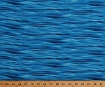 Cotton Water Waves Ripples Ocean Lake Landscape Medley Deep Blue Cotton Fabric Print by the Yard (365DEEPBLUE)