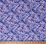 Cotton Hoffman Challenge 2018 Diamond Cut Tanzanite Purple Diamonds Precious Stones Gems Gemstones Jewels Jewelry Jewellery Jewelers Shine On! Blender Cotton Fabric Print by the Yard (Q4431-236-TANZANITE)