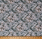 Cotton Hoffman Challenge 2018 Digital Diamonds Cut Diamond Precious Stones Gems Gemstones Jewels Jewelry Jewellery Jewelers Blender Shine On! Sea Glass Cotton Fabric Print by the Yard (Q4431-402-SEA-GLASS)
