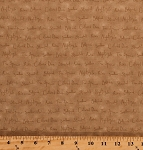 Cotton Melody Bird Watching Birdwatching Birds Names Types Words on Tan Cotton Fabric Print by the Yard (1649-22877-a)