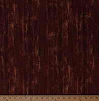 Cotton Landscape Floorboards Barn Siding Barn Wood Grain Heartland Home Cotton Fabric Print by Yard (21650-24RED)
