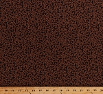 Cotton Coffee Beans Allover on Black Caffeine Cafe Cotton Fabric Print by the Yard (COFFEE-C6881-BLACK)