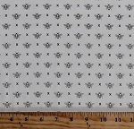 Cotton Bees Honey Bees Insects on Off-White Garden Variety Queen Bee Cotton Fabric Print by the Yard (5073-11)