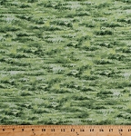 Cotton Grass Meadows Pastures Green Grassy Fields Plains Nature Outdoors Landscape Naturescapes Cotton Fabric Print by the Yard (21414-74)