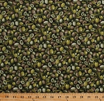 Cotton Fresh Olives Olive Branches Vegetables Fruit Food Kitchen Farmer J Garden Party Green Cotton Fabric Print by the Yard (120-13231)