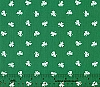 Limited Edition Clovers Twill Fabric - Kelly Green