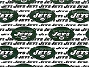 Cotton New York Jets White NFL Pro Football Cotton Fabric Print