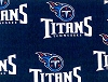 Tennessee Titans NFL Pro Football Cotton Fabric Print