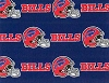 Buffalo Bills NFL Pro Football Cotton Fabric Print