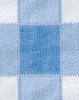 Plaid - Blue  Fleece Fabric Print by the Yard o1400-1b