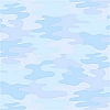 Camouflage Light Blue Fleece Fabric Print by the Yard o26552-2b