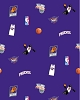 Fleece Phoenix Suns NBA Pro Basketball Sports Team Fleece Fabric Print by the yard (s035sunss)