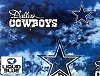 Fleece Dallas Cowboys Liquid Blue NFL Football Fleece Fabric Print by the yard (s6348df)