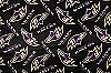 Fleece Baltimore Ravens Black NFL Football Fleece Fabric Print by the Yard (s6231df)