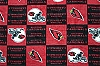 Fleece Arizona Cardinals NFL Football Fleece Fabric Print by the Yard (s6328df)
