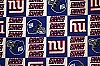 Fleece New York Giants NFL Football Fleece Fabric Print by the yard (s6331df)