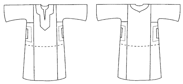 Folkwear 104 Egyptian Shirt Egypt Galabia Robe Jellabiya Sewing ...