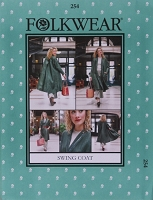 Folkwear Swing Coat #254 Sewing Pattern (Pattern Only) folkwear254