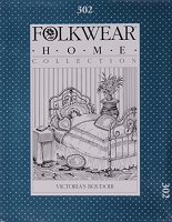 Folkwear Victoria's Boudoir #302 Quilt Cover Pillow Shams Bedroom Accessories Home Collection (Pattern Only) folkwear302