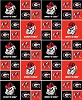 Cotton University of Georgia College Team Cotton Fabric Print (ga-020)