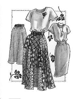 Great Copy 1260 Shell and Skirt Wardrobe Sewing Pattern (Pattern Only)