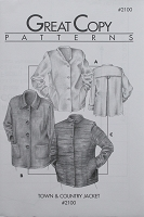 Great Copy 2100 Town & Country Jacket Sewing Pattern (Pattern Only)