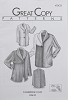 Great Copy 2435 Cambridge Coat Sewing Pattern (Pattern Only)