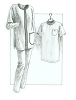 Great Copy 605 Tunic Top and Slim Pants Sewing Pattern (Pattern Only)