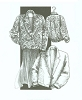 Great Copy 805 Blanket Jacket Sewing Pattern (Pattern Only)