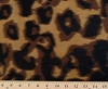 Fleece (not for masks) Brown and Black Leopard Spots and Skin Fleece Fabric Print by the Yard oscan2333q