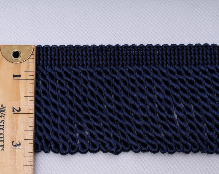 Royal Blue Rayon Bullion Fringe 3 Quot Decorator Decorative