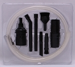 Micro Vacuum Attachment Kit - Easy to Use All-Purpose Vacuum Cleaner Attachments (59199)