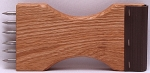 Webbing Stretcher Upholstery Tool with Ergonomic Wood Handle (M413.07)