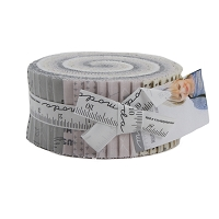Jelly Roll - Modern BG More Paper Zen Chic Neutrals Low Volume Small Print 2.5