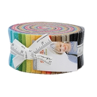 Jelly Roll - Spotted Zen Chic Polka Dots Spots Speckles Rainbow Spectrum 2.5