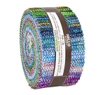 Jelly Roll - Atlantia Studio RK Hearts Scales Silver Metallic Ocean Mermaid 2.5
