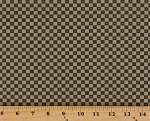 Cotton Jo Morton Essex Checks Checkerboard Squares Civil War Reproduction Cotton Fabric Print by the Yard A7431-T