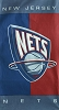 NBA® Cotton Duck Fabric Panel - New Jersey Nets - 30