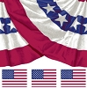 Cotton American Flag Flags Stars & Stripes Old Glory Bunting Patriotic USA 22