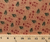 Cotton Jo Morton Jo's Currant Reds Leaves Leaf Civil War Reproduction Cotton Fabric Print by the Yard (p0260-1805-r)