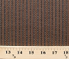 Cotton Jo Morton Jamestown Civil War Zig Zag Stripe Brown Cotton Fabric Print by the Yard (p0260-3448-n)