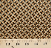 Cotton Jo Morton Civil War Reproduction Diamond Triangle Geometric Brown Fairfax County Cotton Fabric Print by the Yard (p0260-3988-n)
