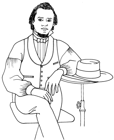 pastpattern018 Past Pattern #018 Sizes 34-38 Man/'s Vest Shawl Collar Waistcoat