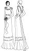 Past Pattern Wedding Gown Dated Circa 1929-1931 Sewing Pattern