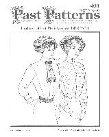 Past Pattern Edwardian Tailored Shirt Waists Sewing Pattern