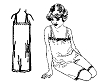 Past Pattern Flapper Step-In Underwear Sewing Pattern