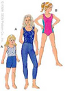 Kwik-Sew Pattern – Leotards, Leggings & Shorts